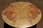 Butterfly table various hardwoods