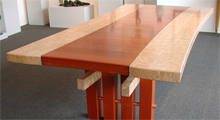 Bent Rail Table