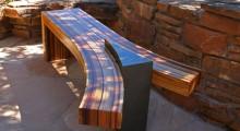 Laminated bench