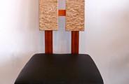 Tamo chair: Tamo ash and mahogany